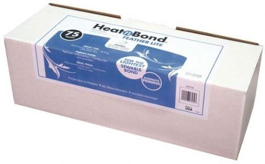 Heat-n-Bond Feather Lite paper-backed fabric adhesive